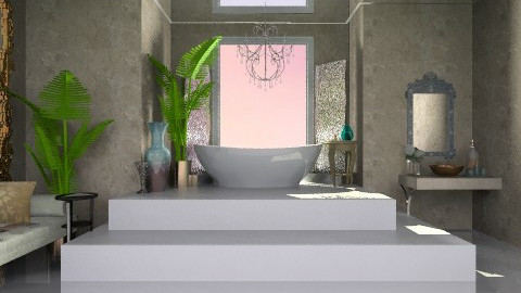 bathroom 1 - Classic - Bathroom  - by elwirarakiec