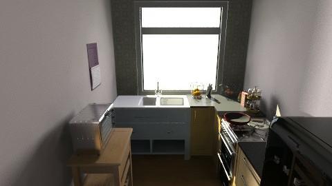 San Jose Utopica cocina - Retro - Kitchen  - by Arianis Gutirrez Vannucci