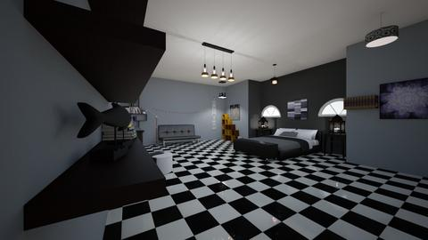 My room - Bedroom - by skye245_