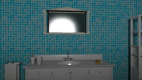 Ebeveyn Banyosu - Glamour - Bathroom  - by pelin1286