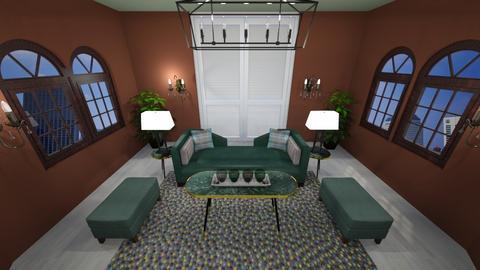 Elane living room - Living room  - by sstamenos