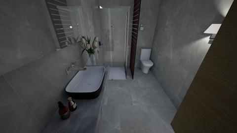 bathroom thao - Modern - Bathroom  - by nguyentruonggiathao