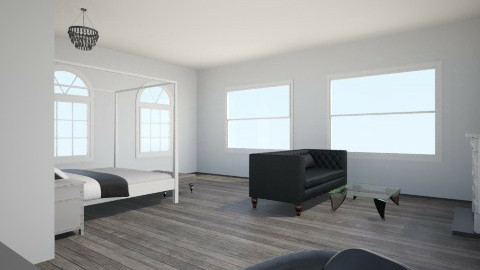 Bedroom and Office - Modern - Bedroom - by JFoxie