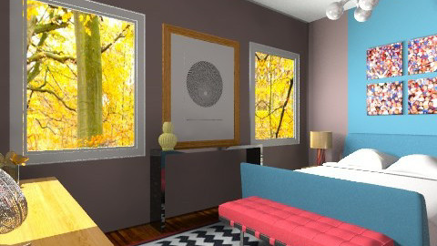 Blaze - Eclectic - Bedroom  - by lauren_murphy