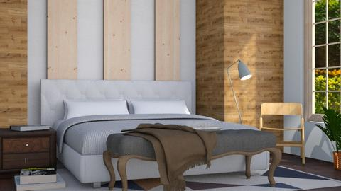 Cabin - Rustic - Bedroom - by stephendesign