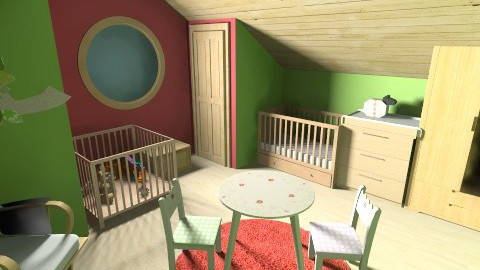 rosie dt room2 - Rustic - Kids room  - by lizziemayh