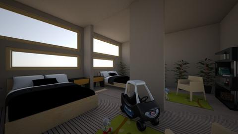 Modern Childrens Room - Modern - Bedroom  - by ijohnson270