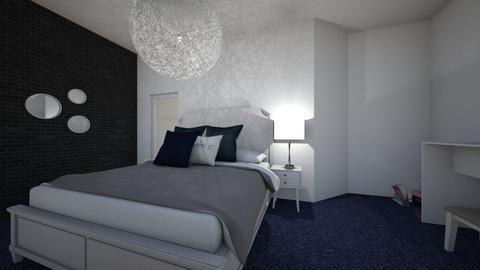 bleu - Classic - Bedroom  - by Burcu Olgun
