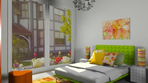 spring - Modern - Bedroom  - by Aliya Al