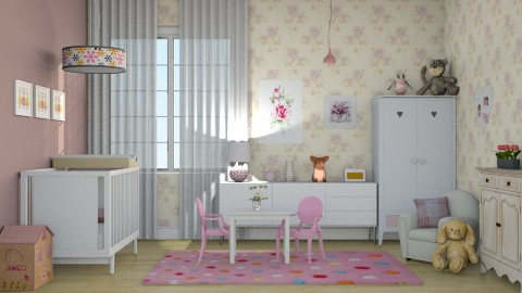 Quarto BABY - Kids room  - by Alecio
