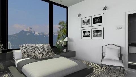 Bedroom003 - Modern - Bedroom  - by Ivana J