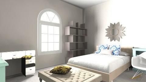 Urban Teen - Vintage - Bedroom  - by gabibela