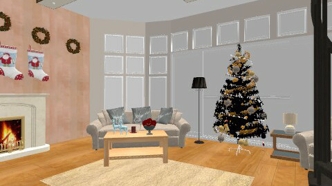 Happy Xmas :D - Living room - by iwoolnough
