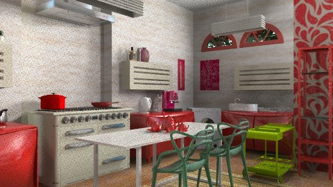 Y P - Modern - Kitchen  - by mrschicken