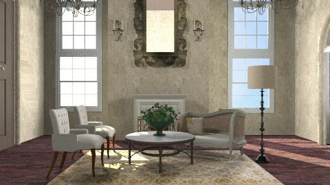 Mansion - Classic - Living room  - by Baustin