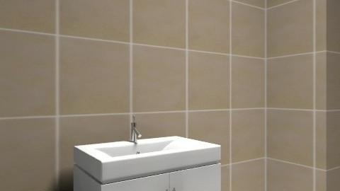 Mészáros Flóra - Minimal - Bathroom  - by floresz