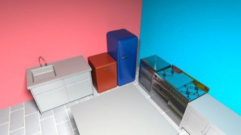 new - Minimal - Kitchen  - by tool88