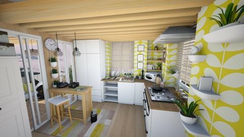 Green Matter  - Modern - Kitchen  - by Sweety Sophie
