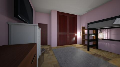 My Real life Bedroom - Bedroom  - by ItsKalaniOfficial