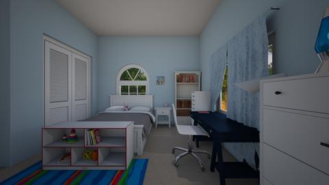 nevaeh room - Bedroom  - by sashaoseguera