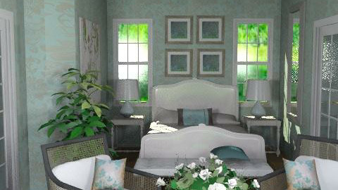 Cotswolds Master bedroom3 - Eclectic - Bedroom  - by channing4