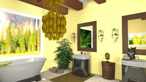 kk - Country - Bathroom  - by kristiecrowndesign