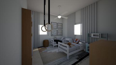 Adi kidsroom 2 - Kids room  - by erlichroni