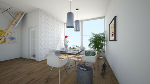 modern - Dining room - by antonija_
