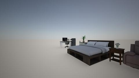 habitacion - Modern - Bedroom  - by xdzakarias