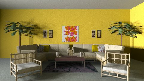beach living room - Modern - Living room - by rachaeldulaney10