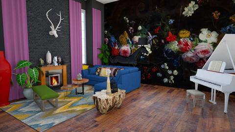 livingroom - by dianasyafira
