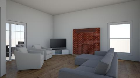 Cindy Culver - Living room  - by ggetlik
