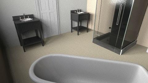 Church bath kathy edit - Vintage - Bathroom  - by keepmvngtx