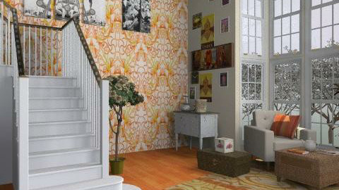 Hintshok - Vintage - Living room  - by SariJo