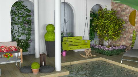 Oooh, oh for this terrace - Classic - Garden  - by newyorkstyle