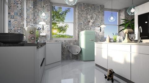 Light Kitchen - Kitchen  - by ZuzanaDesign