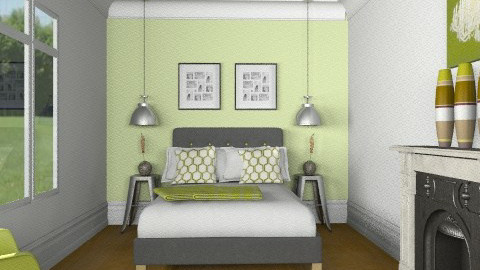 lime zest - Eclectic - Bedroom - by Abdallah Alayan