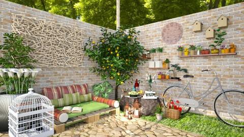 Peaceful corner - Garden - by Joao M Palla