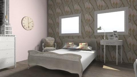 pretty bedroom - Rustic - Bedroom  - by 98cw48