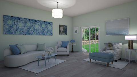 Soft and Blurry - Living room  - by KarJef
