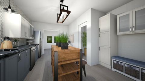 Modern Rustic Kitchen - Rustic - Kitchen  - by Nikki95
