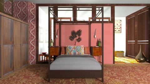Indian Inspiration - Eclectic - Bedroom  - by giulygi