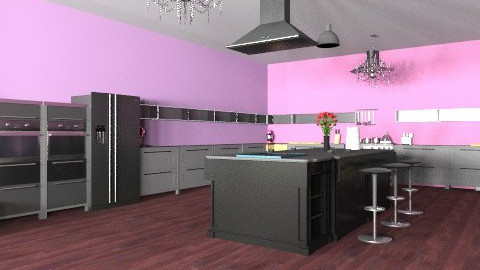 Competion 2 - Minimal - Kitchen  - by mangomushi101010