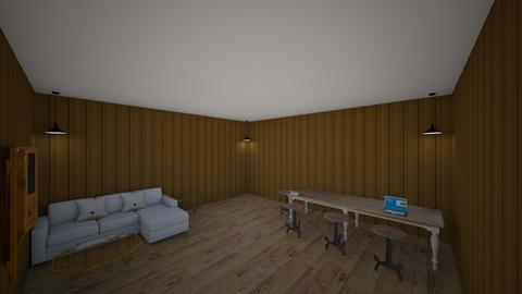 living room design - by Sultan yousef