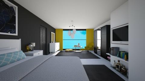 Bed Times - Feminine - Bedroom - by enasays