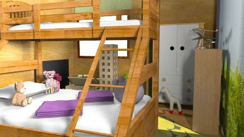 Sharmine Tharian idea 2 - Modern - Kids room  - by nonehpets