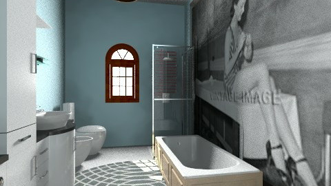 Stanza bagno suite - Glamour - Bathroom  - by DanielaZ