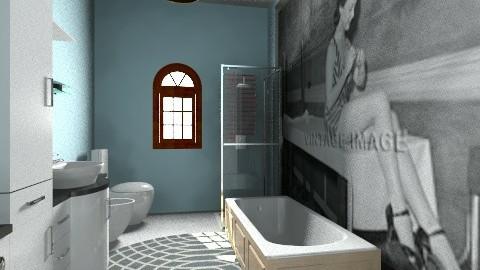 Stanza bagno suite - Glamour - Bathroom  - by DanielaZ