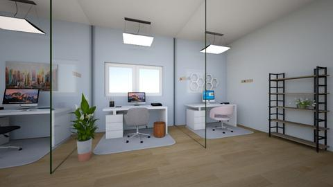 Social Distancing Office - Office  - by Anabelle_deisgns