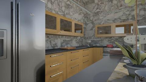 grey shades of kitchen 1 - Minimal - Kitchen  - by herjantofarhan